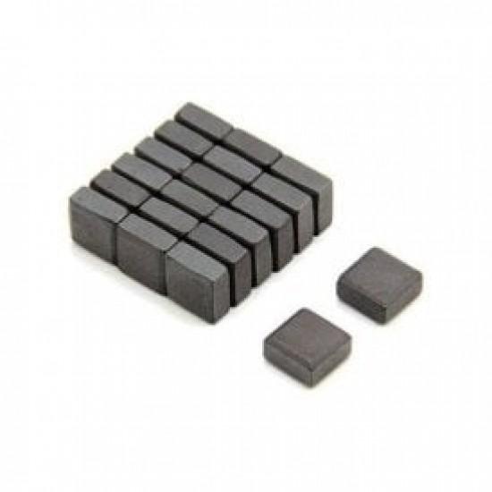 Magnet SrFe bloc 15mm x 15mm x 5mm