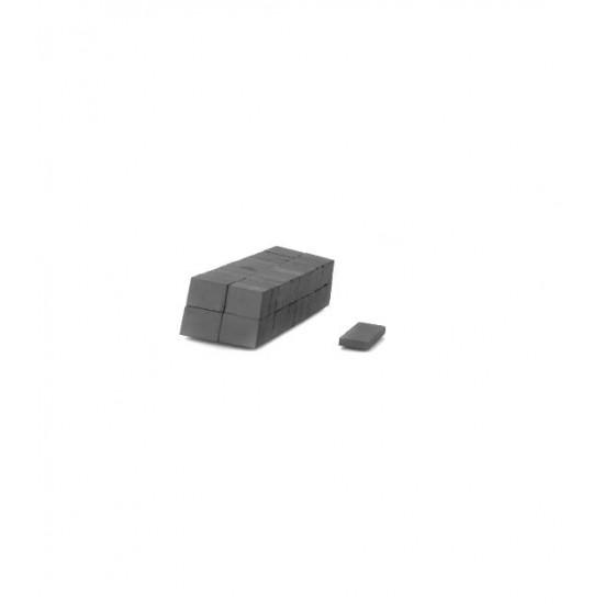 Magnet SrFe bloc 16.3mm x 12mm x 3.8mm