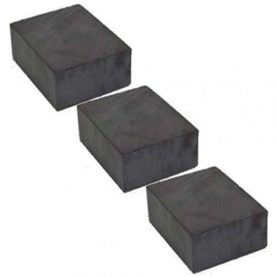 Magnet SrFe bloc 20mm x 20mm x 25mm