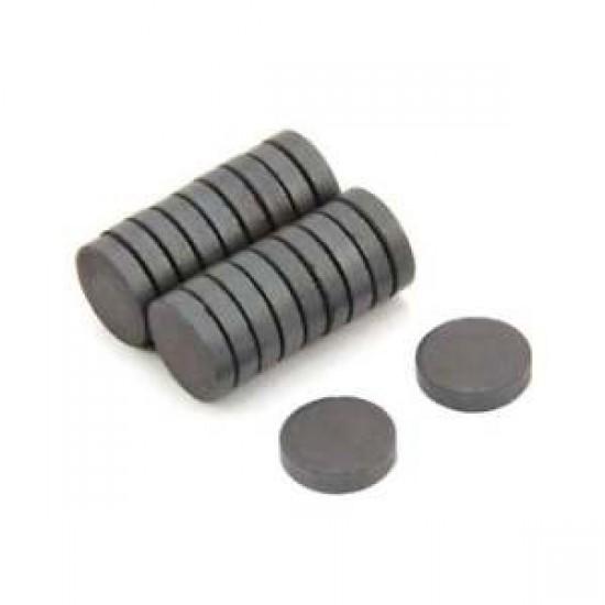 Magnet SrFe disc 10mm x 3mm
