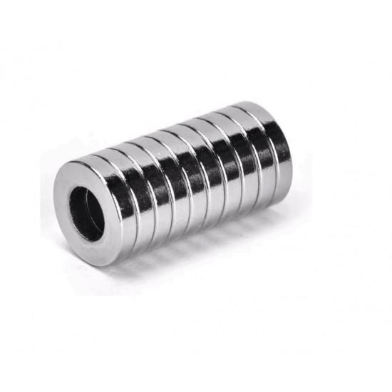 Magnet neodim inel 10mm x 7mm x 3mm, N35