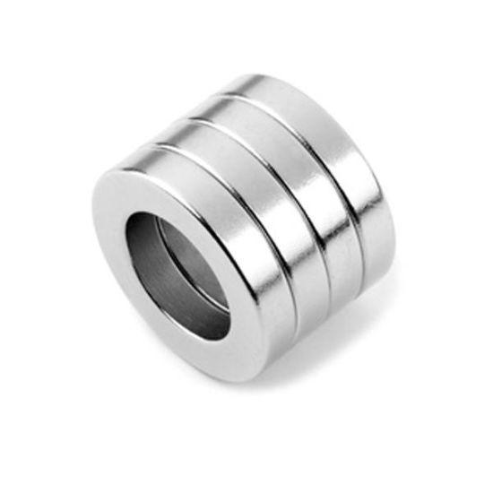 Magnet neodim inel 12mm x 8mm x 3mm, N35