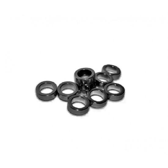 Magnet neodim inel 16mm x 12mm x 8mm, N35, radial, epoxy