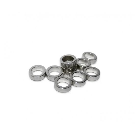 Magnet neodim inel 16mm x 12mm x 8mm, N35, radial