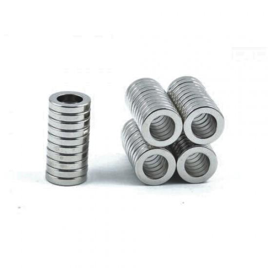 Magnet neodim inel 17,5mm x 9mm x 2,5mm, N48
