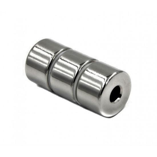 Magnet neodim inel 25,4mm x 6,1mm x 15mm, N48