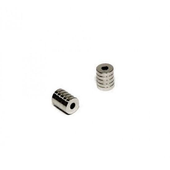 Magnet neodim inel 4mm x 1,5mm x 1mm, N45