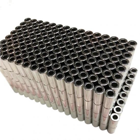 Magnet neodim inel 4mm x 2mm x 8mm, N35
