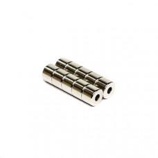 Magnet neodim inel 6mm x 2mm x 5mm, N35