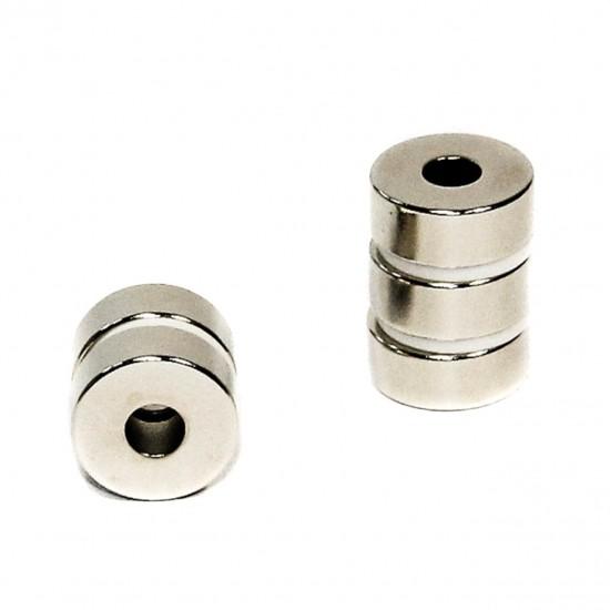 Magnet neodim inel 8mm x 2,5mm x 4mm, N48