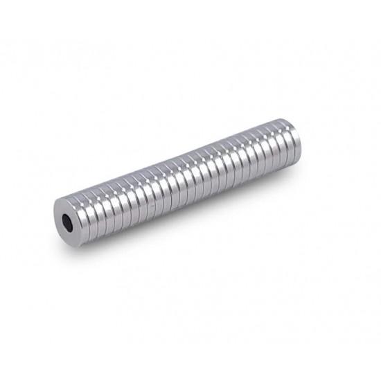 Magnet neodim inel 8mm x 3mm x 1mm, N48