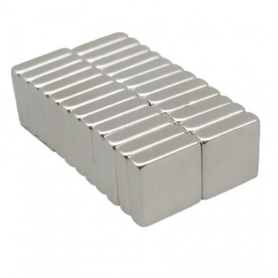 Magnet neodim bloc 10mm x 10mm x 3mm, N48