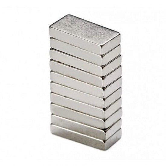 Magnet neodim bloc 10mm x 5mm x 2mm, N35