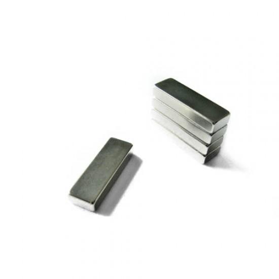 Magnet neodim bloc 10mm x 5mm x 30mm, N48