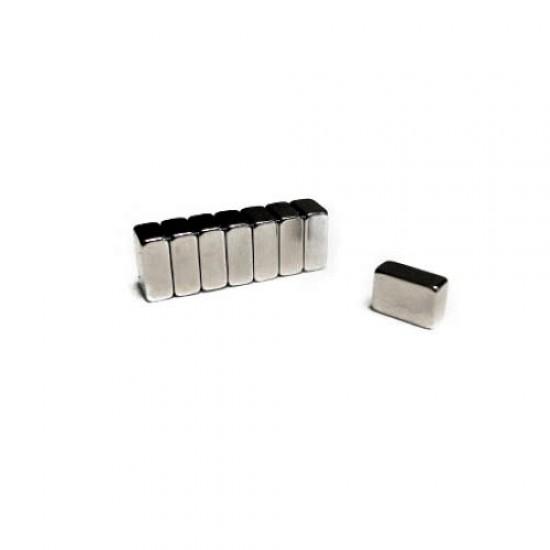 Magnet neodim bloc 12mm x 8mm x 5mm, N35