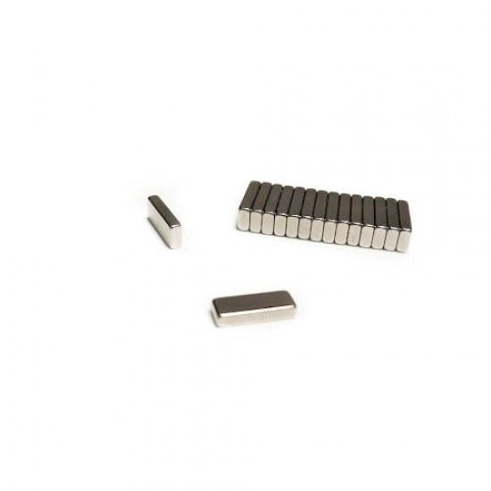 Magnet neodim bloc 15mm x 6mm x 2,8mm, N35