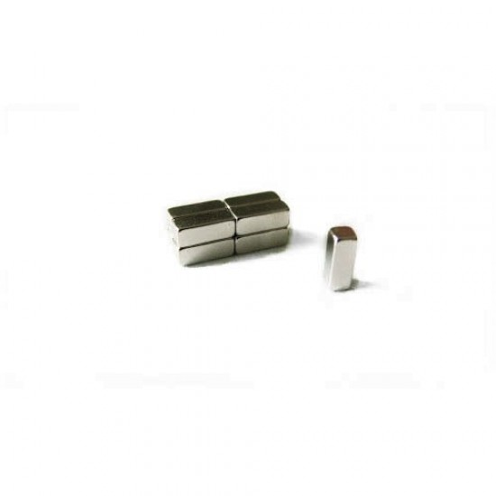 Magnet neodim bloc 3mm x 3mm x 8mm, N35