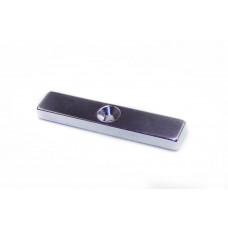 Magnet neodim bloc 50mm x 10mm x 5mm, N48, cu orificiu