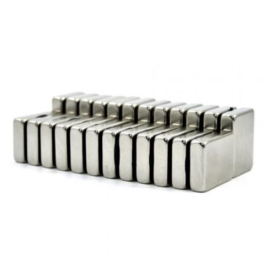 Magnet neodim bloc 5mm x 15mm x 20mm, N35