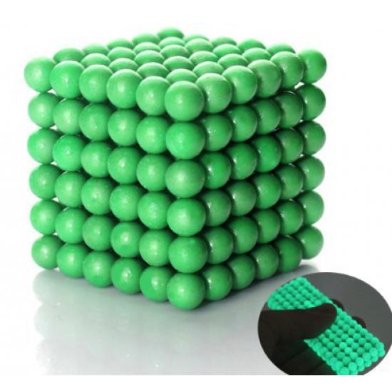Joc magnetic Neocube - Verde neon