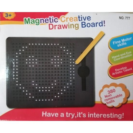 "Jucarie ""Tabla de desen magnetic cu bile"""