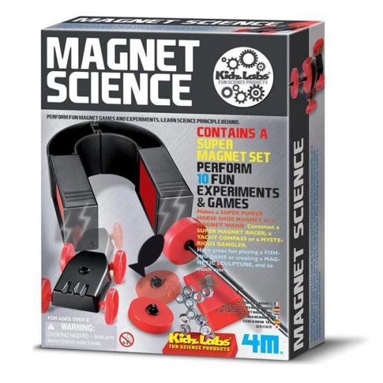 "Jucarie ""Magnet Science"" - Stiinta magnetismului"
