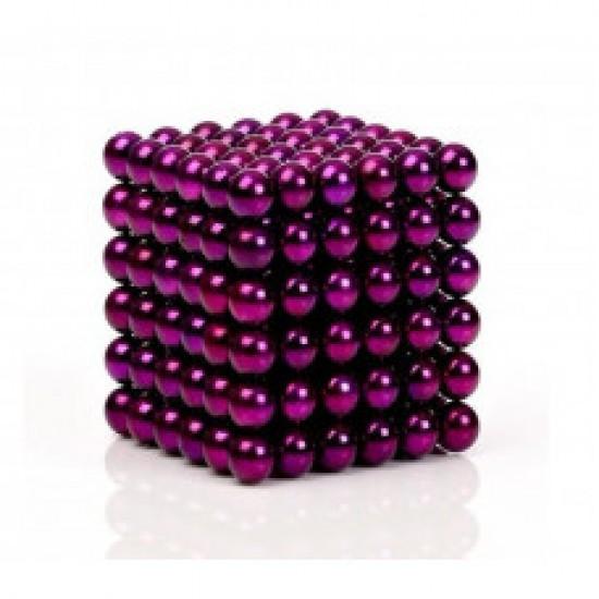 Joc magnetic Neocube - Purpuriu