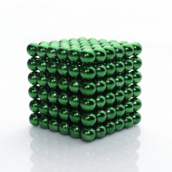 Joc magnetic Neocube - Verde
