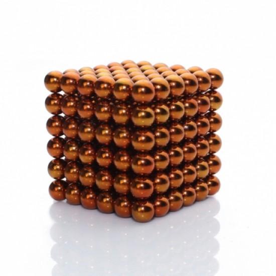 Joc magnetic Neocube - Portocaliu
