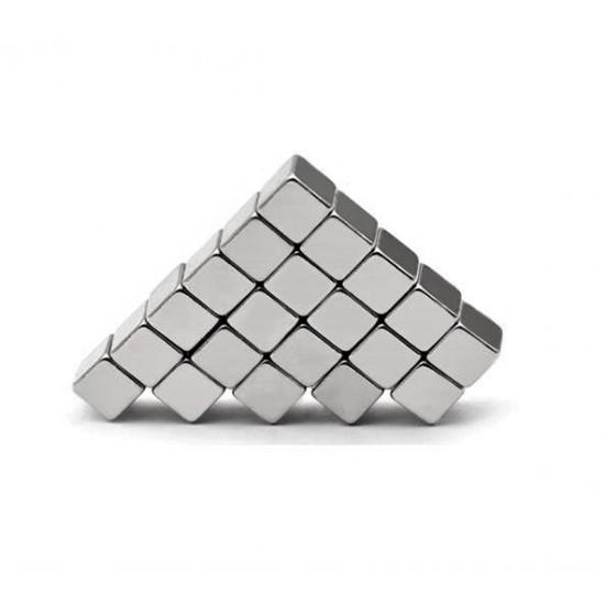 Magnet neodim cub 5mm x 5mm x 5mm, N48