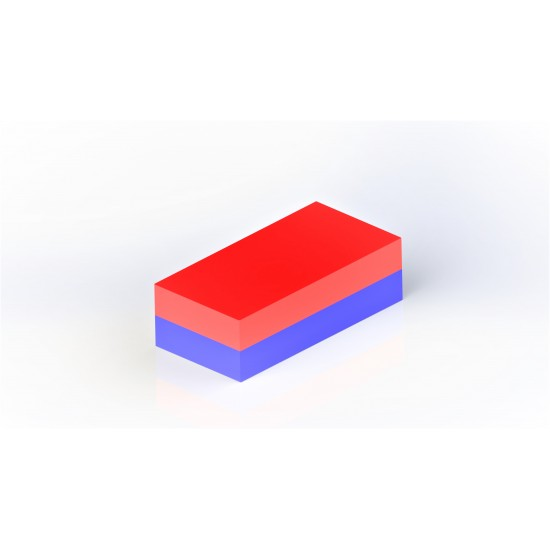 Magnet SrFe bloc 20mm x 15mm x 10mm