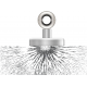 Magnet neodim tip oala diam. 16 mm, cu orificiu