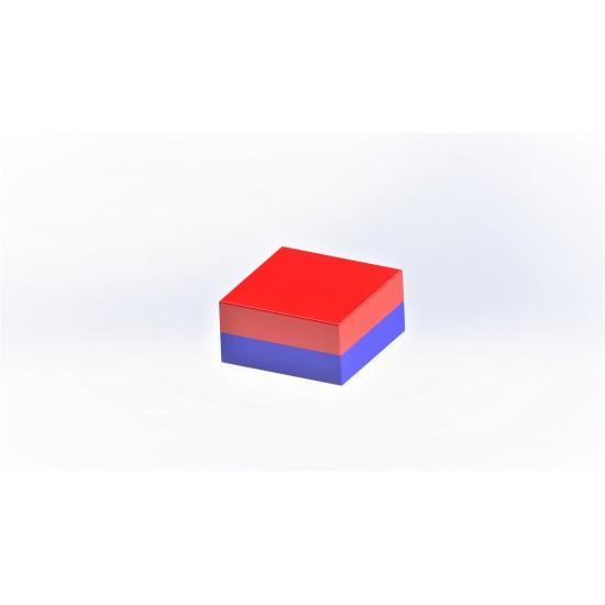 Magnet SrFe bloc 20mm x 20mm x 5mm