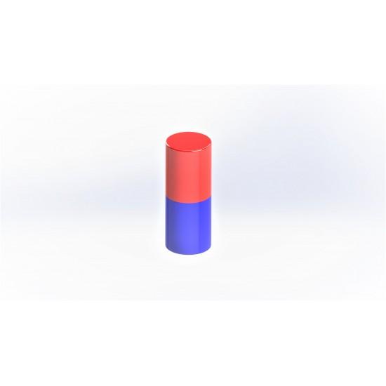 Magnet neodim cilindru 6mm x 25mm, N35
