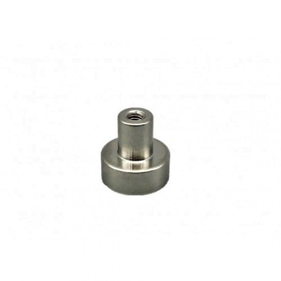 Magnet neodim tip oala diam. 12 mm, cu  filet interior