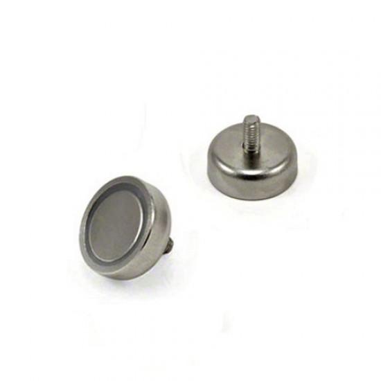 Magnet neodim tip oala diam. 20 mm, cu filet exterior