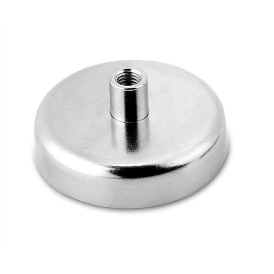 Magnet neodim tip oala diam. 32 mm, cu filet interior