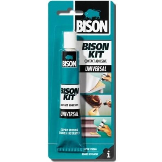 Adeziv de contact, universal, BISON Kit, transparent, 50ml pentru lipirea foliilor magnetice