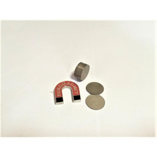 Magnet samariu-cobalt disc 20mm x 1mm