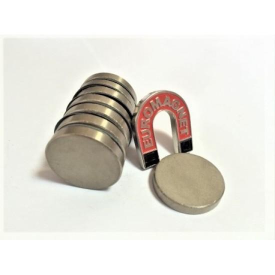 Magnet samariu-cobalt disc 27,4mm x 4,5mm