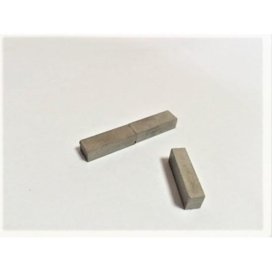Magnet samariu-cobalt bloc 4,5mm x 6mm x 18mm