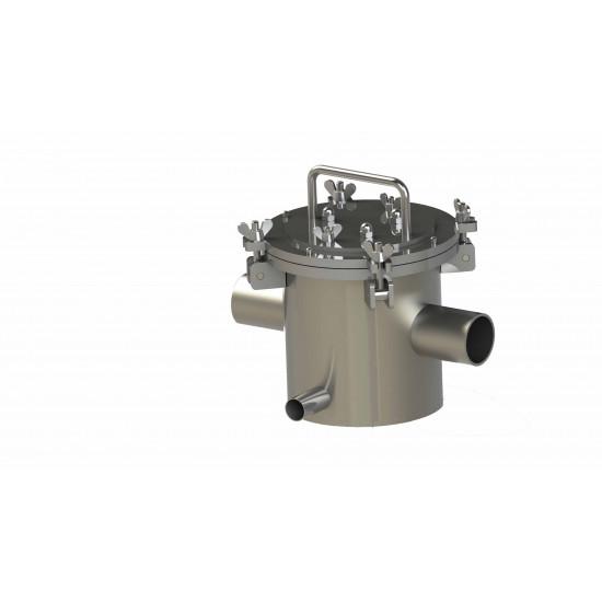 Separator magnetic pentru lichide DN-50 cu incalzire