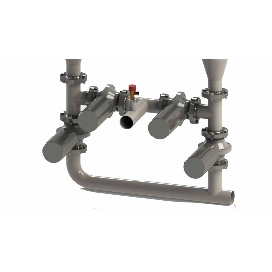 Separtor magnetic pentru lichide DN-80 EGY H