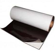 Folie magnetica gros 0,4mm, latime 620mm, cu adeziv, 1 metru liniar