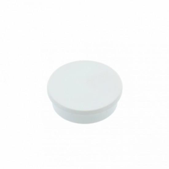 Magneti de birou 25mm  - alb