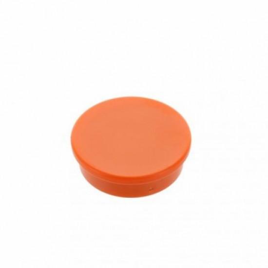 Magneti de birou 20mm  - portocaliu