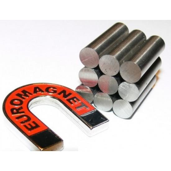 Magnet AlNiCo cilindru 12mm x 80mm