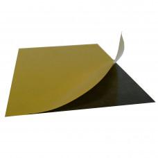 Folie magnetica gros. 0,4mm, cu adeziv, 10cm x 15cm