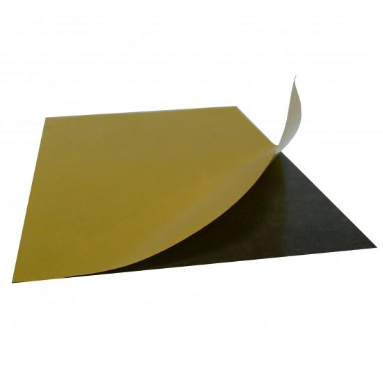 Folie magnetica gros. 0,4mm, cu adeziv, format A6