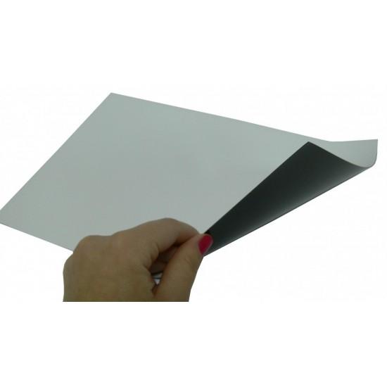 Folie magnetica imprimabila gros. 0,26mm, format A4